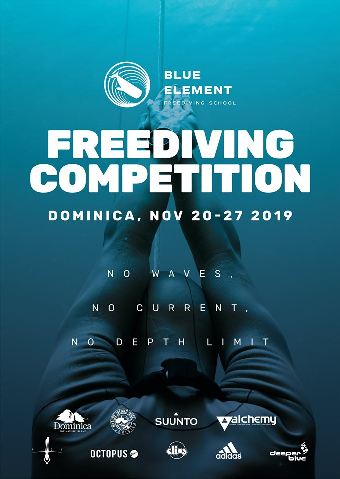 Third Blue Element Freediving Competition Set For November 2019