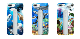 POPSICASE Mobile Phone Case Made From Abandoned Fishing Nets