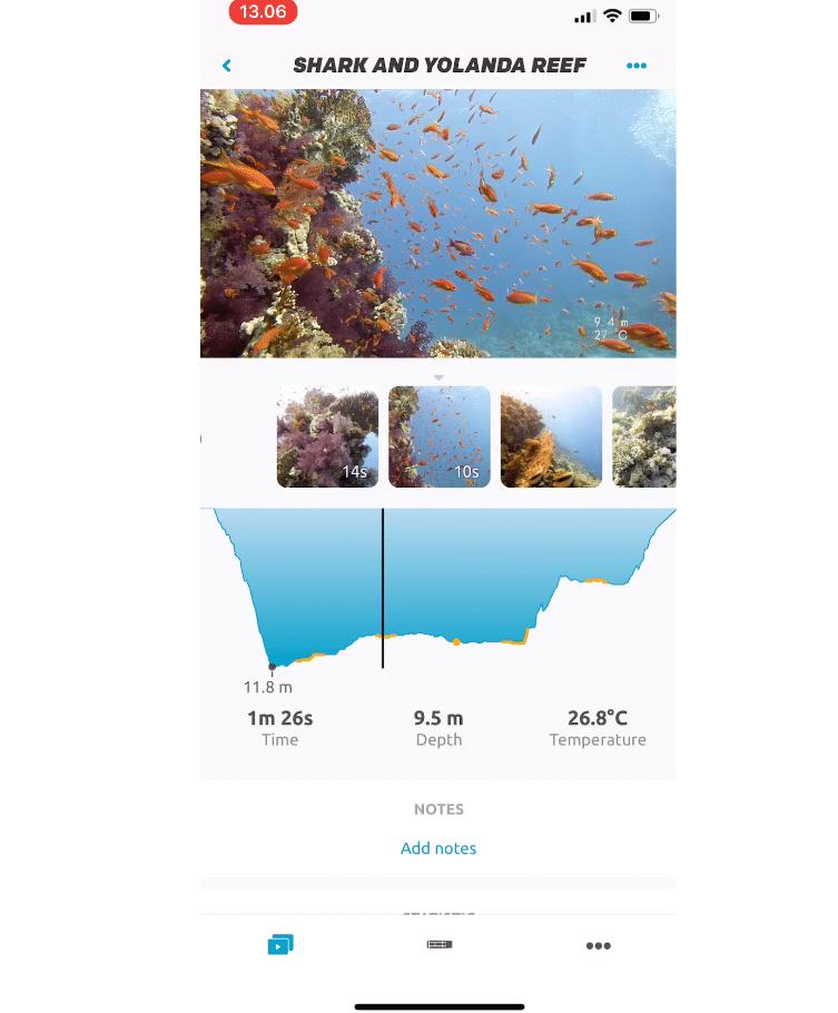 Paralenz Unveils Updated Dive Log App