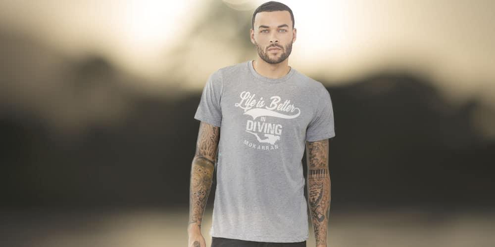 Mokarran 'Life is better in diving' T-shirt