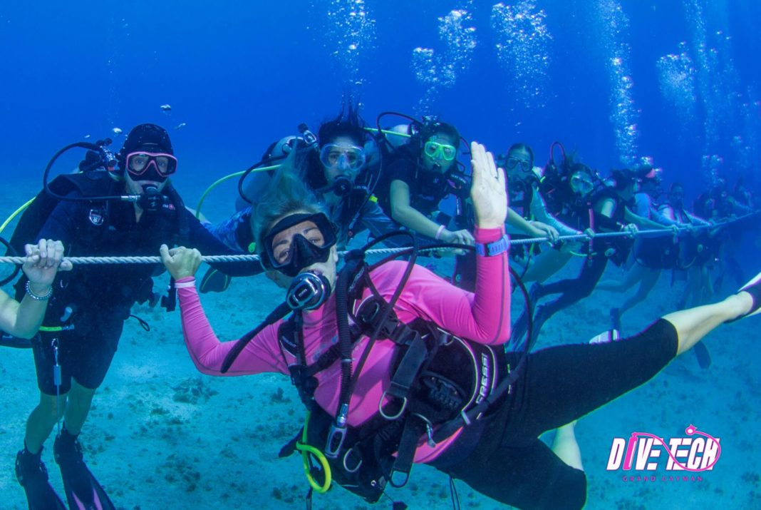 Women's World Record Planned At Divetech Grand Cayman 2