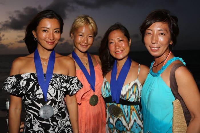 The Japanese Woman are SAIKO! (photo courtesy of Howard Holtzman)