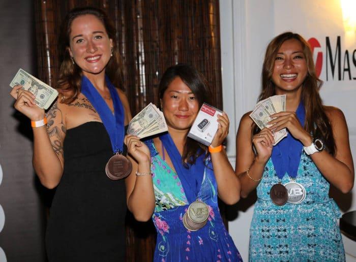 Sayuri places first at VB 2015 (photo courtesy of Howard Holtzman)