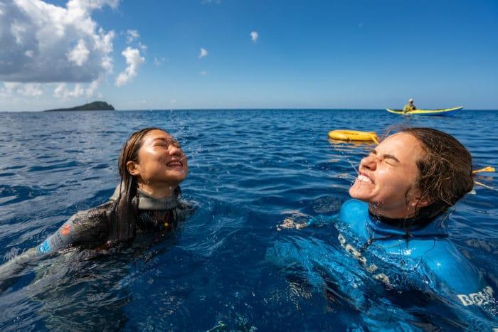 Freediving should be fun! (photo courtesy of Daan Verhoeven)