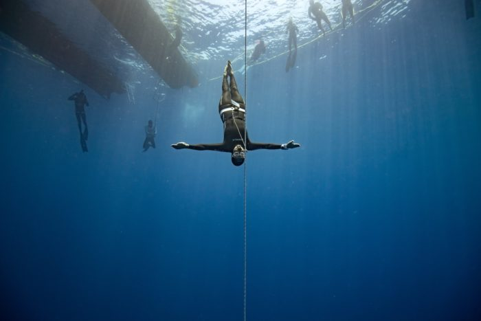 Day 1 of the Roatan 2019 CMAS 4th Freediving Outdoor World Championship