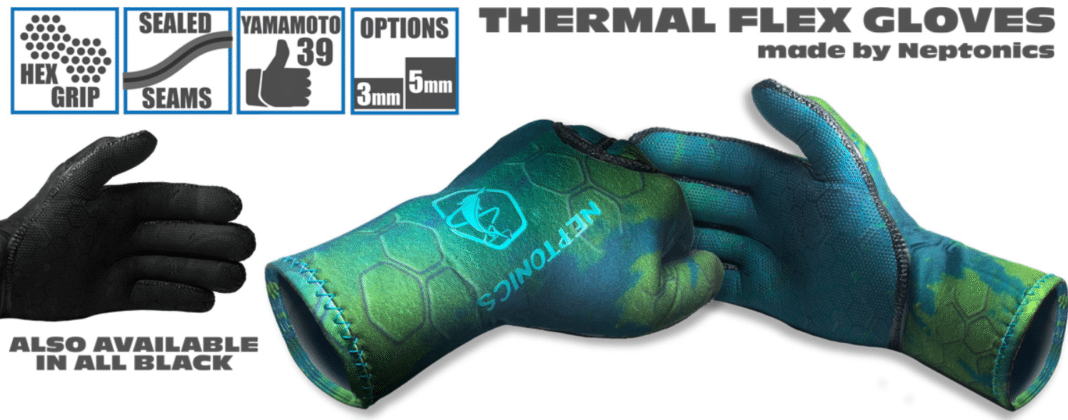 Neptonics' New Thermal Flex Dive Gloves