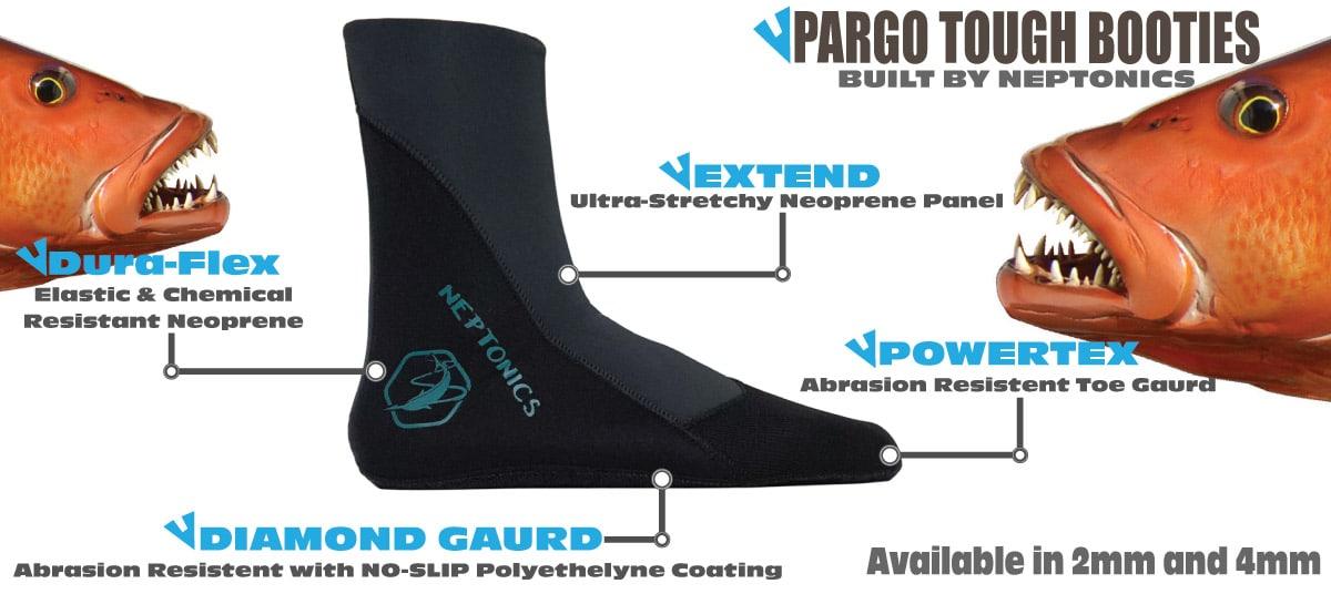 Neptonics has introduced its new Pargo tough booties.
