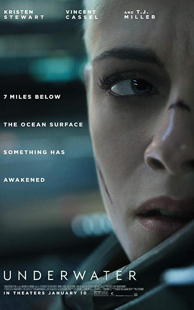 Trailer For 'Underwater' Film Starring Kristen Stewart Released