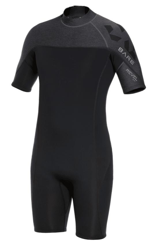 BARE Revel Men's Shorty wetsuit