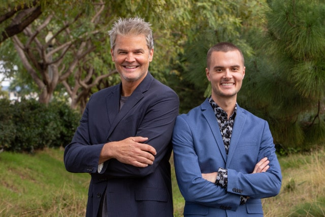 Mammalz co-founders Alexander Finden and Rob Whitehair