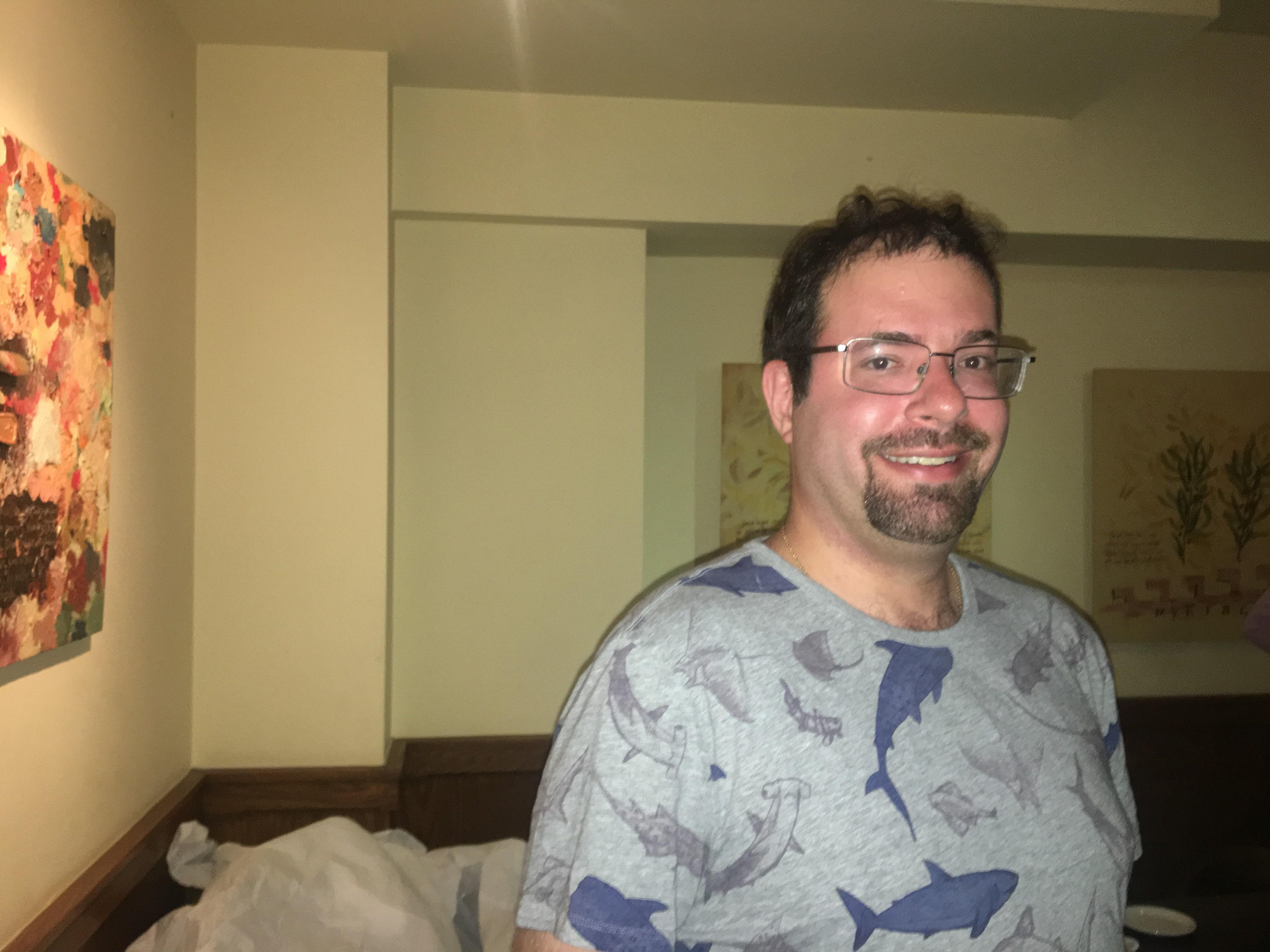 Marine biologist and shark advocate Dr. David Shiffman