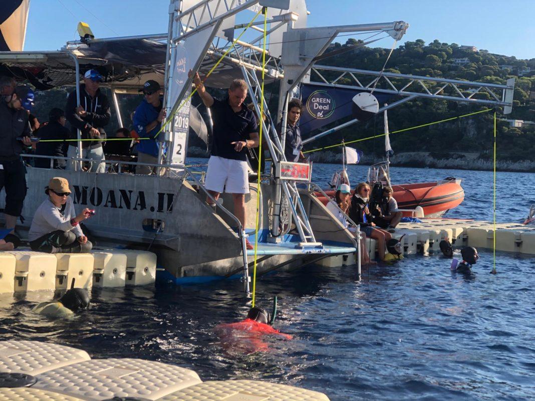 Day 2 of the 2019 AIDA Depth Freediving World Championships