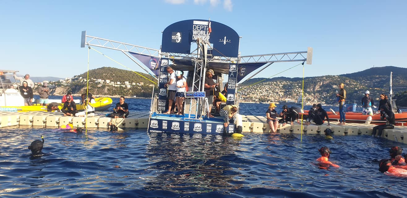 AIDA Depth World Championships 2019 - Day One CNF