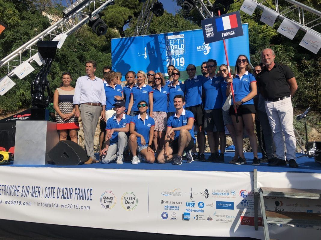 AIDA World Championships 2019: Opening Ceremony