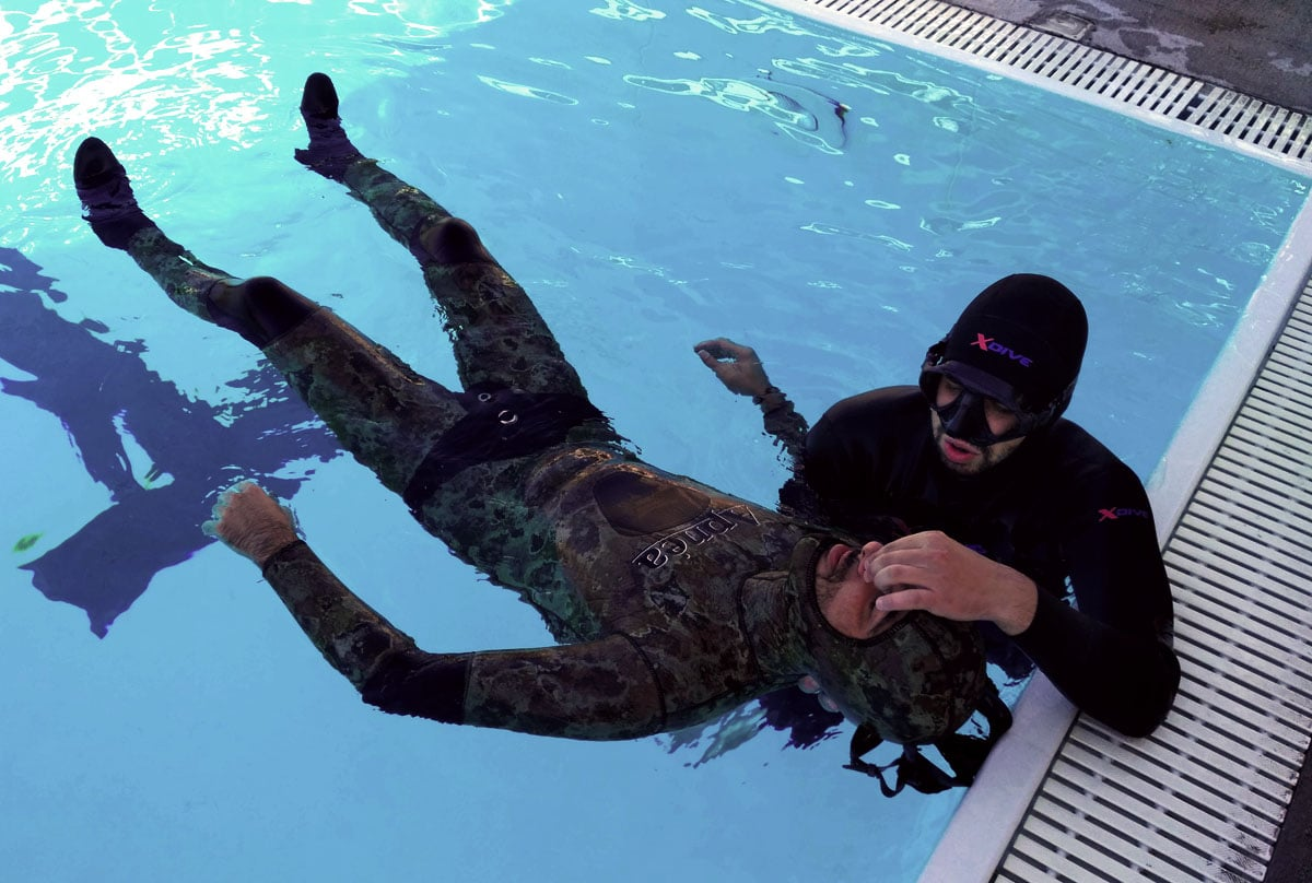AIDA Introduces First Aid Course Designed For Freedivers (Image Credit: Kostas Madouros)