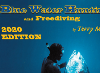 2020 Edition Of Terry Maas' 'Blue Water Hunting and Freediving' Book Now Available
