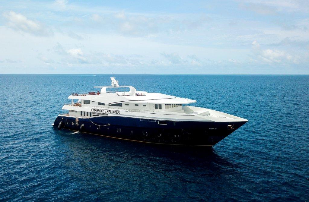 New Maldives Liveaboard The MV Emperor Explorer Begins Dive Trips