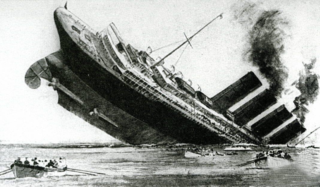Sinking of the ocean liner