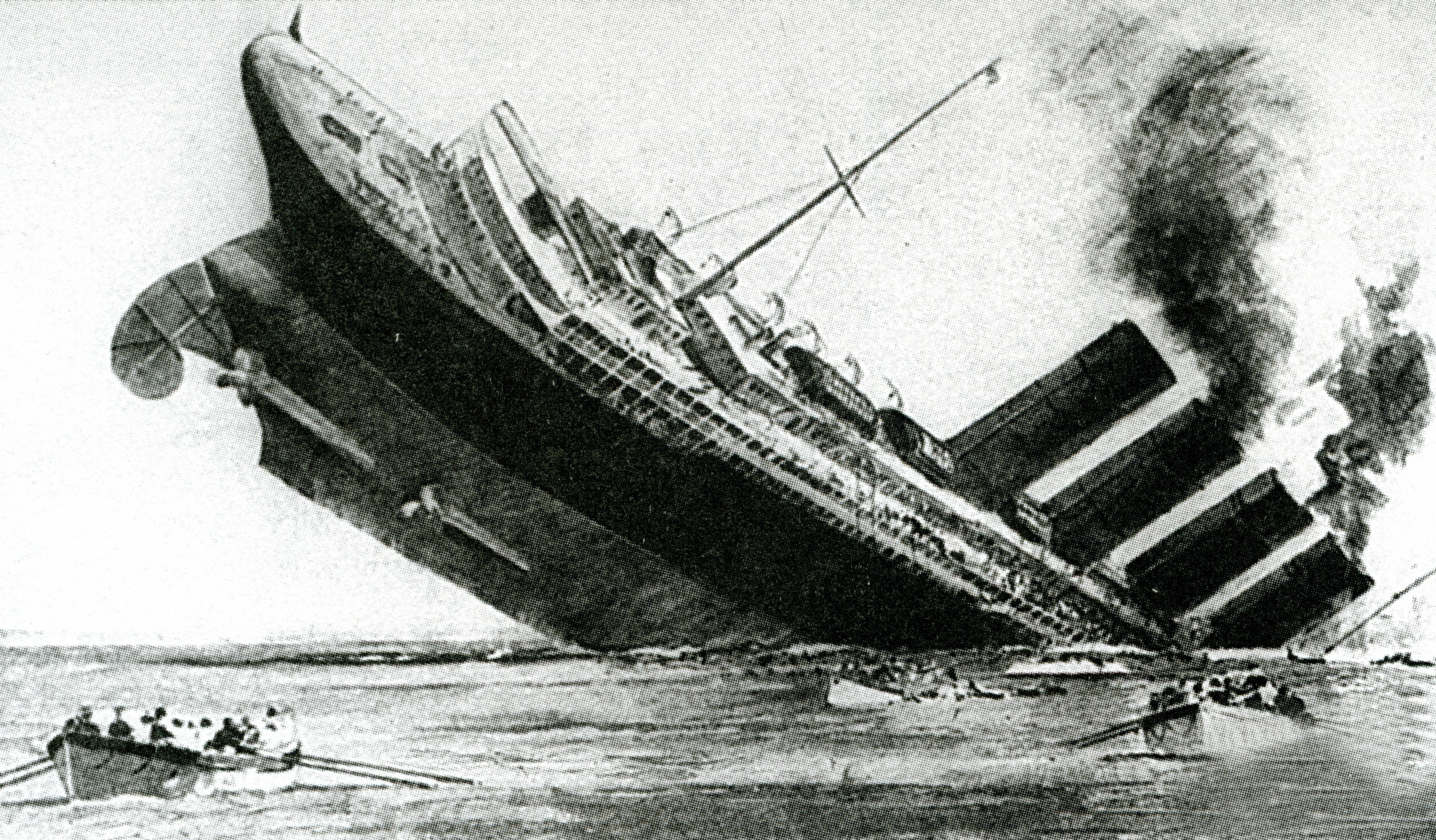 Sinking of the ocean liner