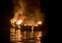 34 dead in boat fire off California coast