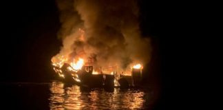 34 dead in boat fire off California coast
