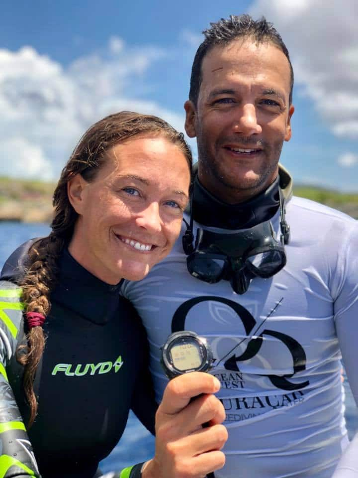 Alessia Zecchini Sets New Women's Free Immersion Freediving World Record (Image credit: Kimmo Lahtinen)