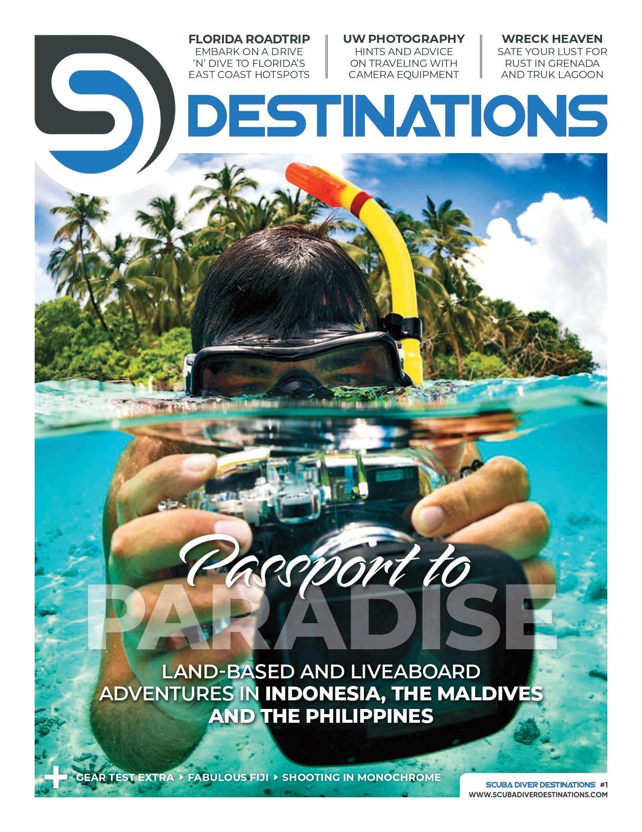 'Scuba Diver Destinations' Touches Down In North America