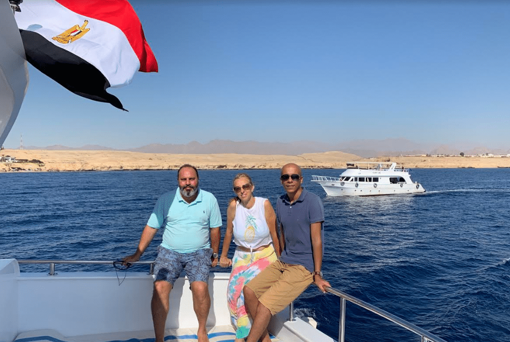 Green Fins Assessor Team in Egypt