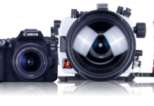 Ikelite's 200DL Underwater Housing For Canon EOS 90D DSLR Cameras