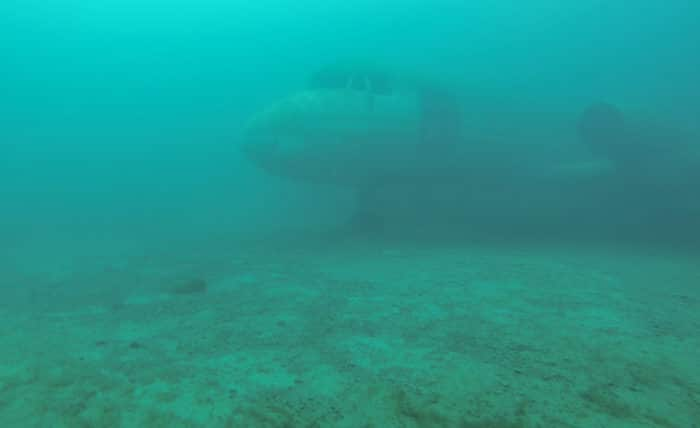 Capernwray Diving Centre - Hawker Siddeley 748