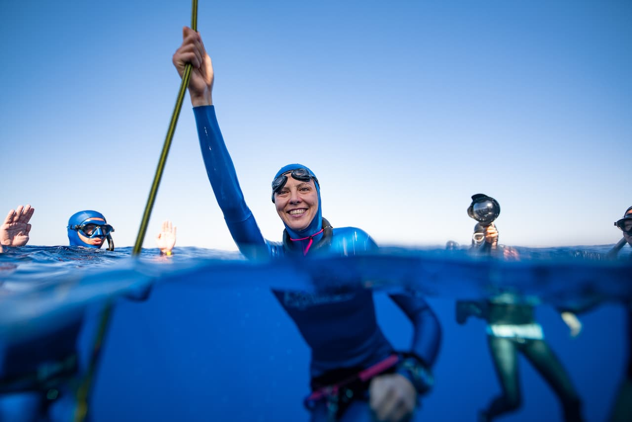 Alice Hickson Sets New UK National Freediving Record