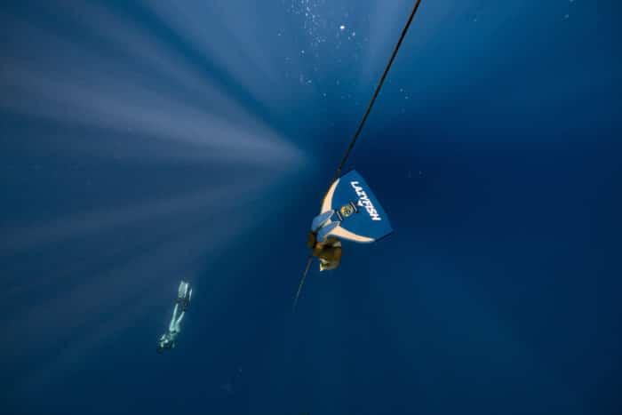 Lazyfish Divehaus in action (photo by Daan Verhoeven)