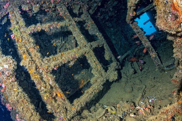 Liberty Ship Wreck in Bali