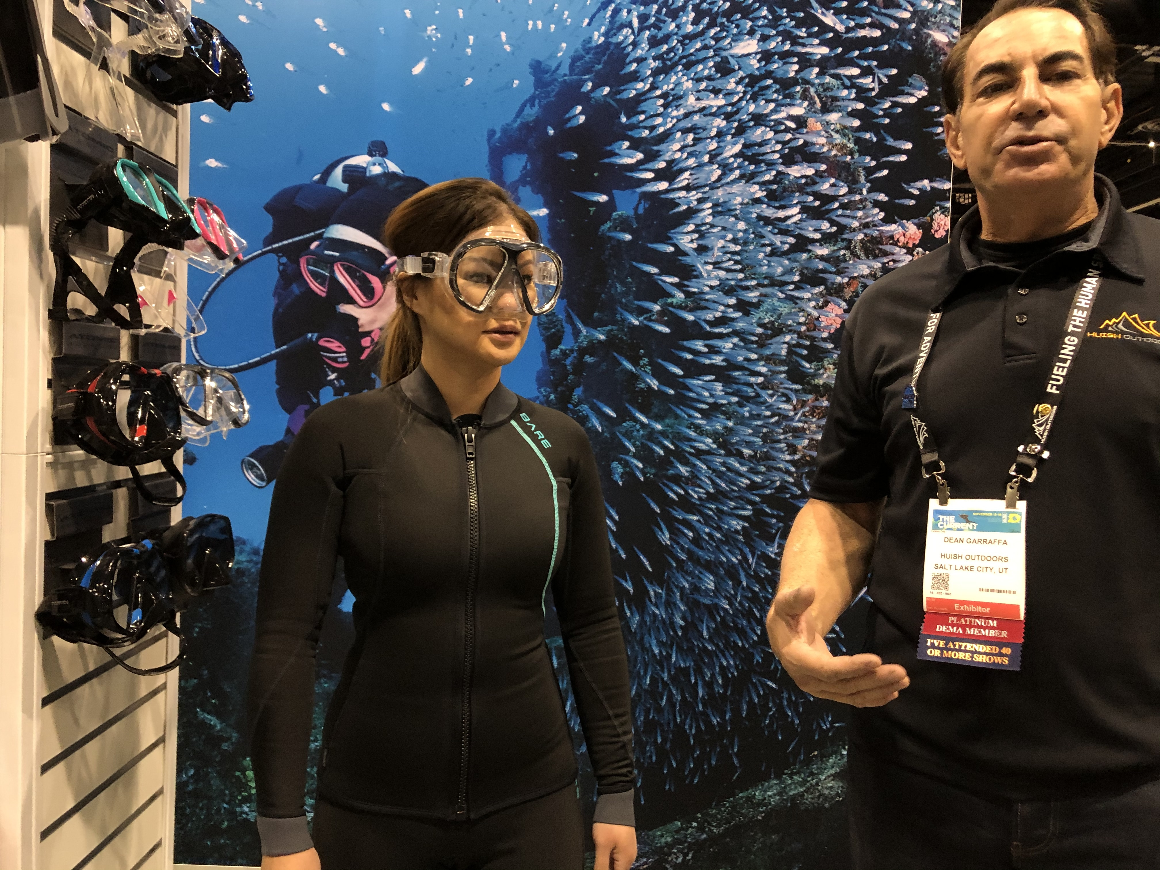 Atomic Aquatics' New SubFrame 'Asian Fit' Masks