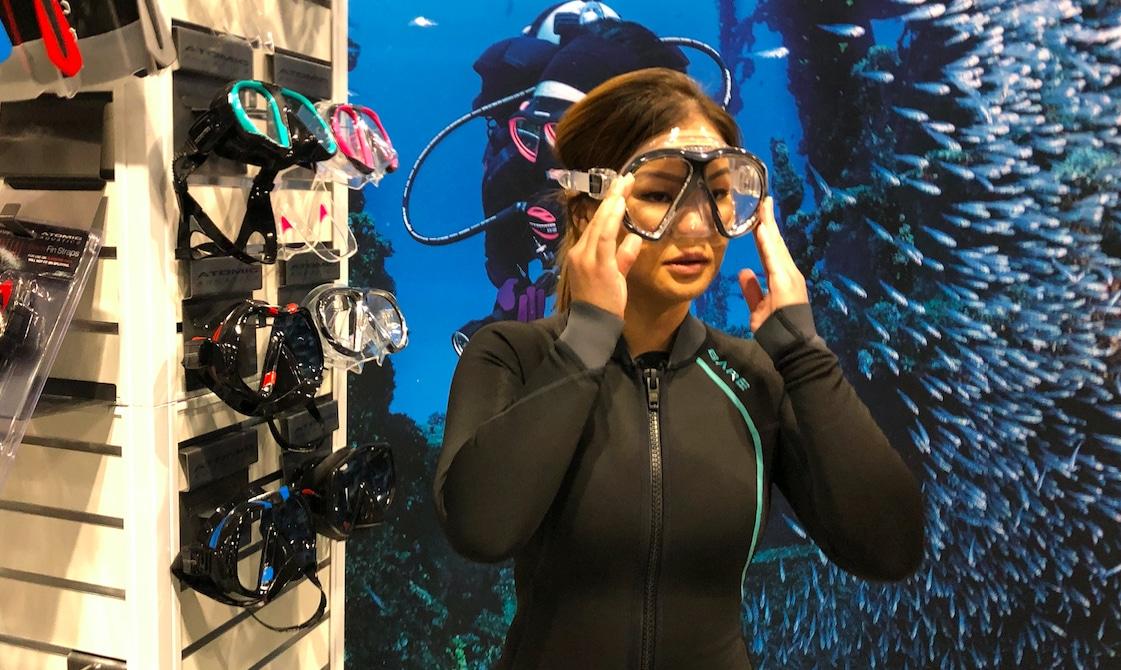 Atomic Aquatics Reveal New Sub Frame 'Asian Fit' Masks