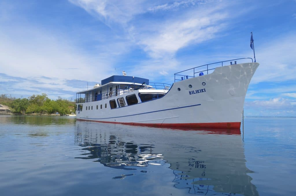 Dive and tour the islands an board a liveaboard!