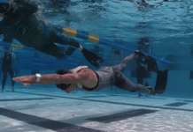 Claire Beatrix Paris Breaks Two USA National, Continental Freediving Records (Image credit: Brock Burggrabe)