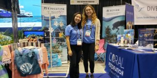 Coral Restoration Foundation at DEMA Show 2019