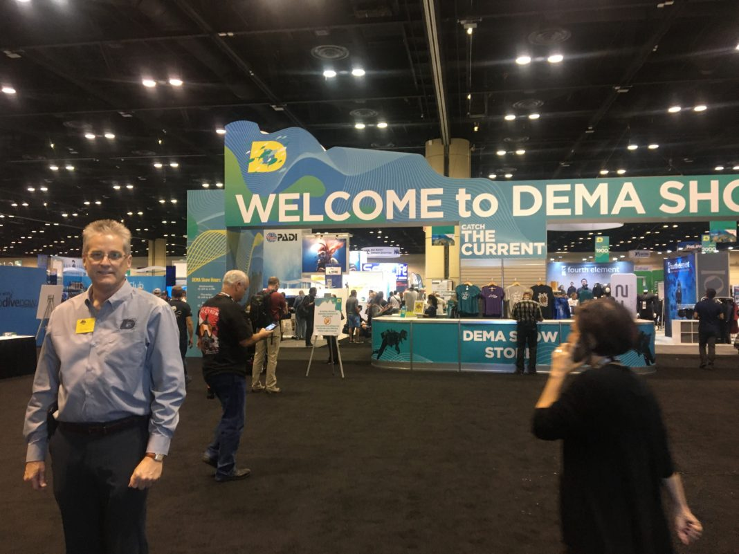 DEMA Executive Director Tom Ingram at DEMA Show 2019