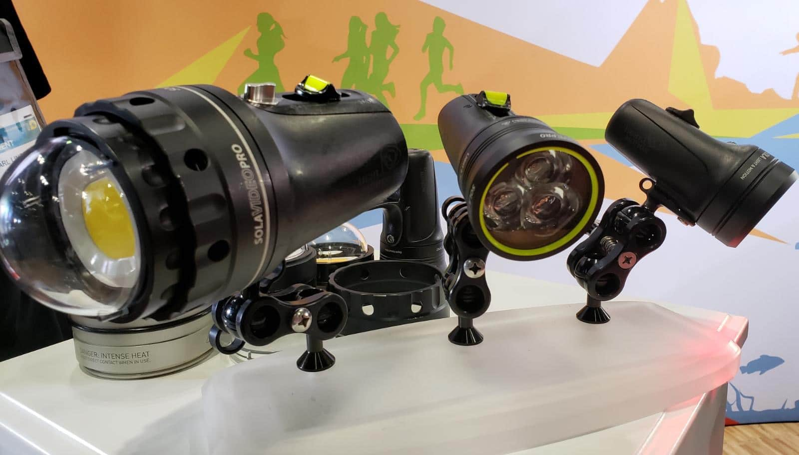 Light & Motion at DEMA Show 2019