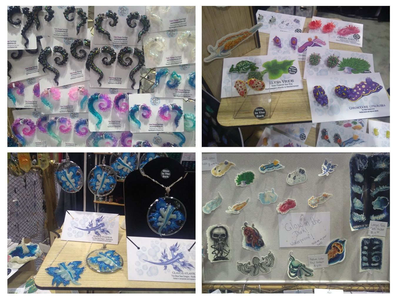 Nudis, Octos, and Bioluminescent Jewelry from the 'The Slug and Kraken'