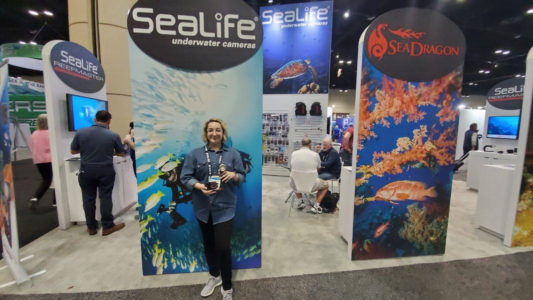 Sealife's Reefmaster RM-4K Camera At DEMA Show 2019