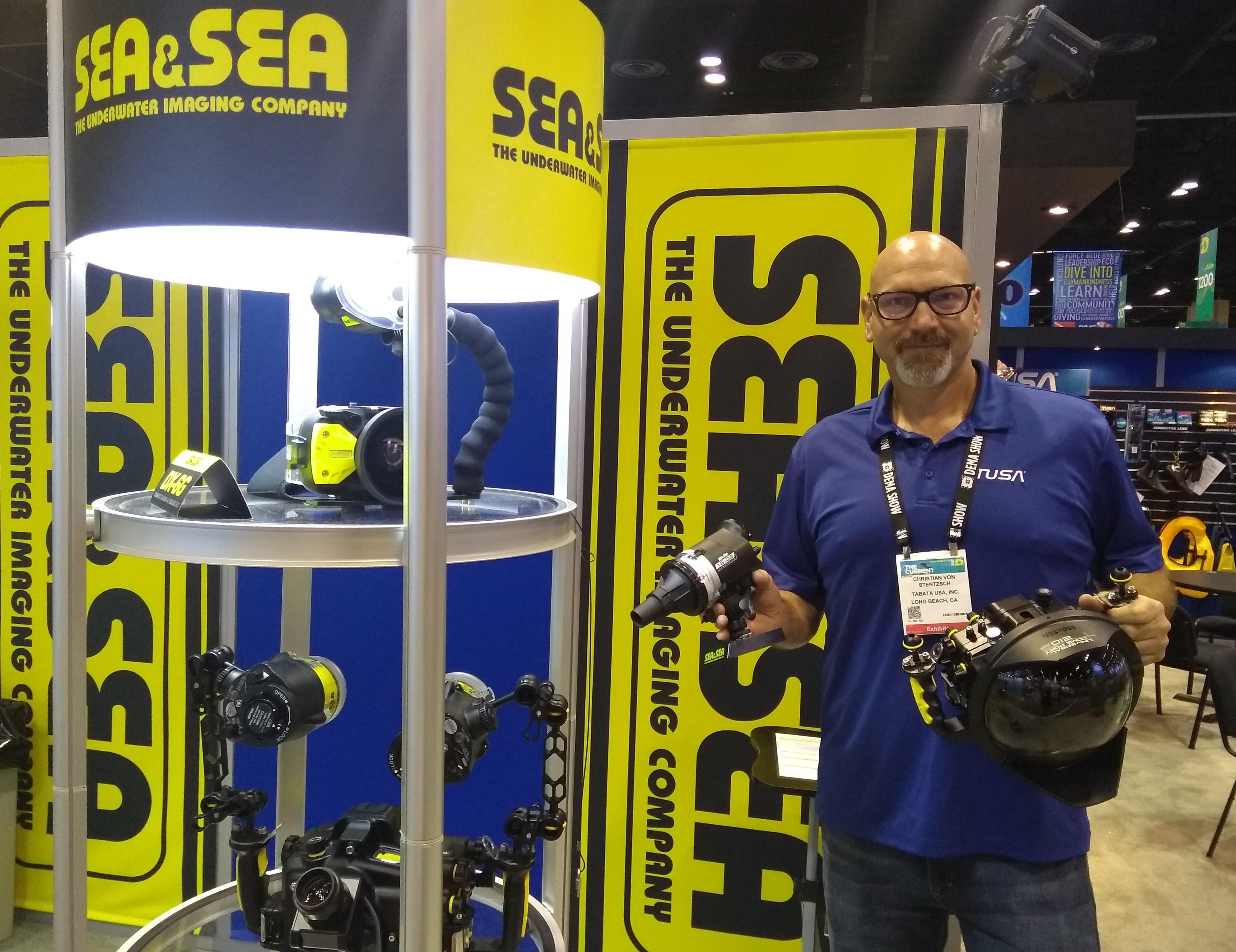 Sea&Sea Shines Bright with New Strobe and Lighter Dome Port