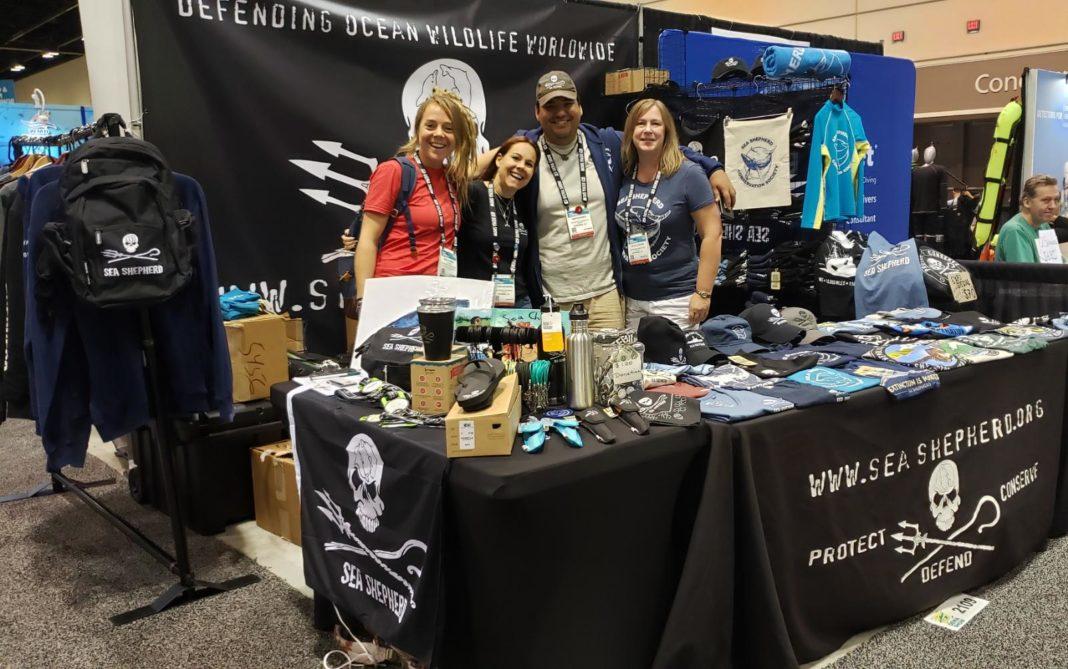 Sea Shepherd at DEMA Show 2019