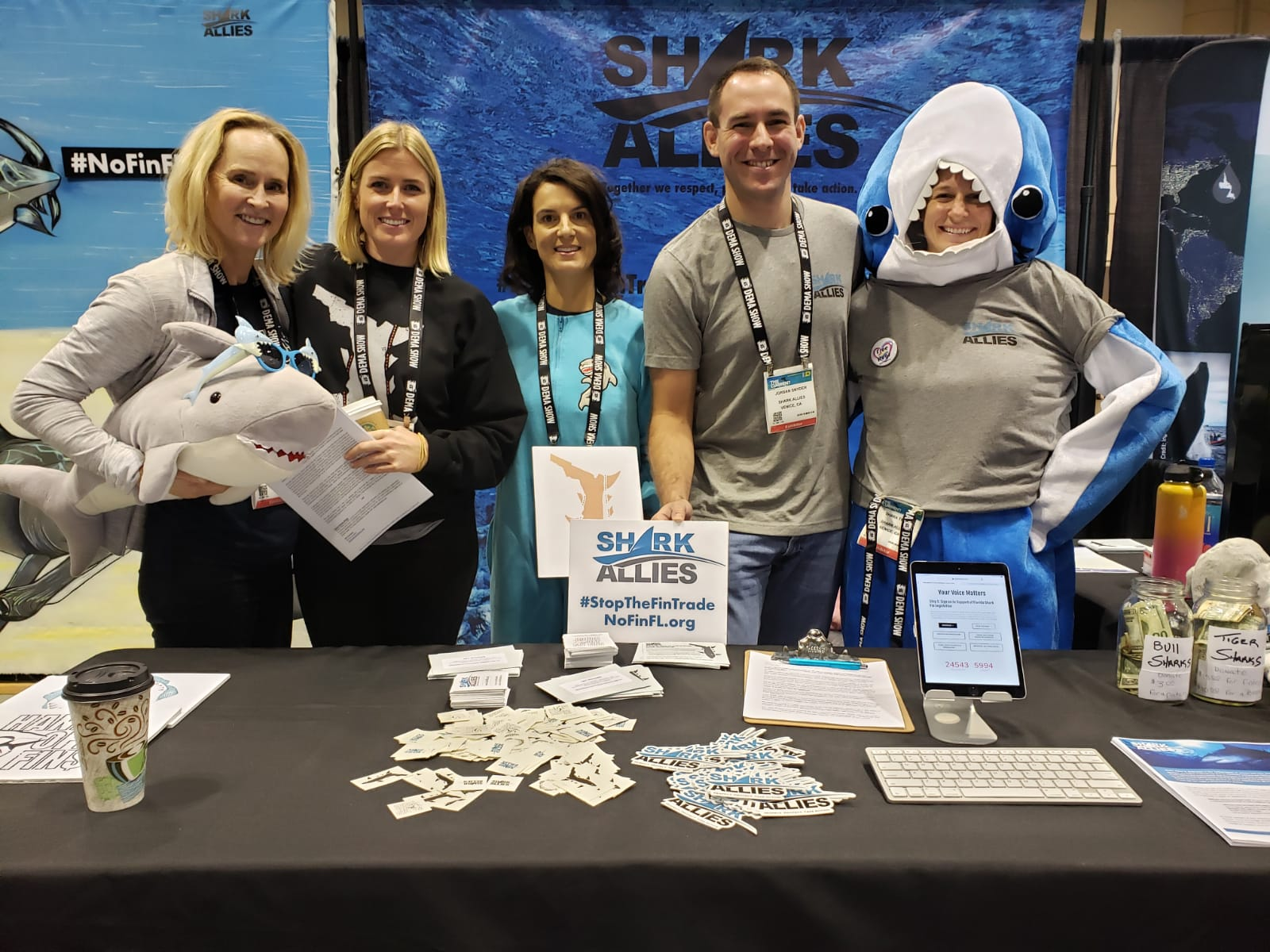 Shark Allies at DEMA Show 2019