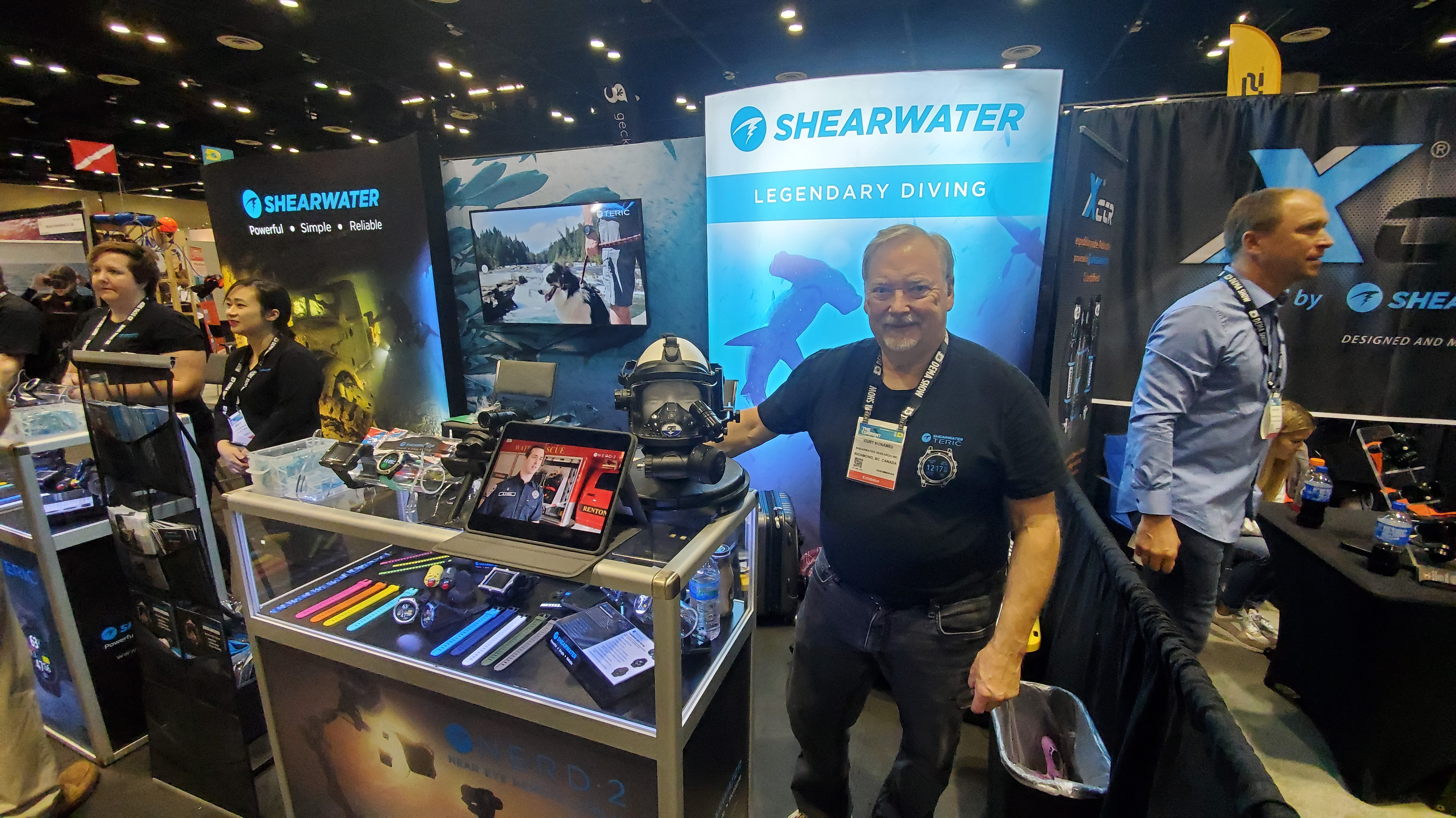 Shearwater Showcases Upgraded Teric Wrist Dive Computer, NERD 2