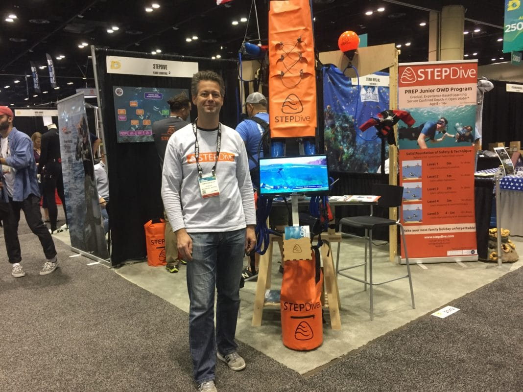 STEPDive System at DEMA Show 2019
