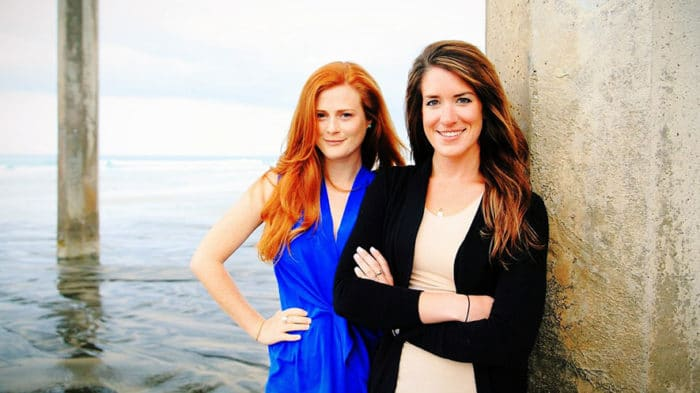 Emily Callahan and Amber Jackson from Blue Latitudes