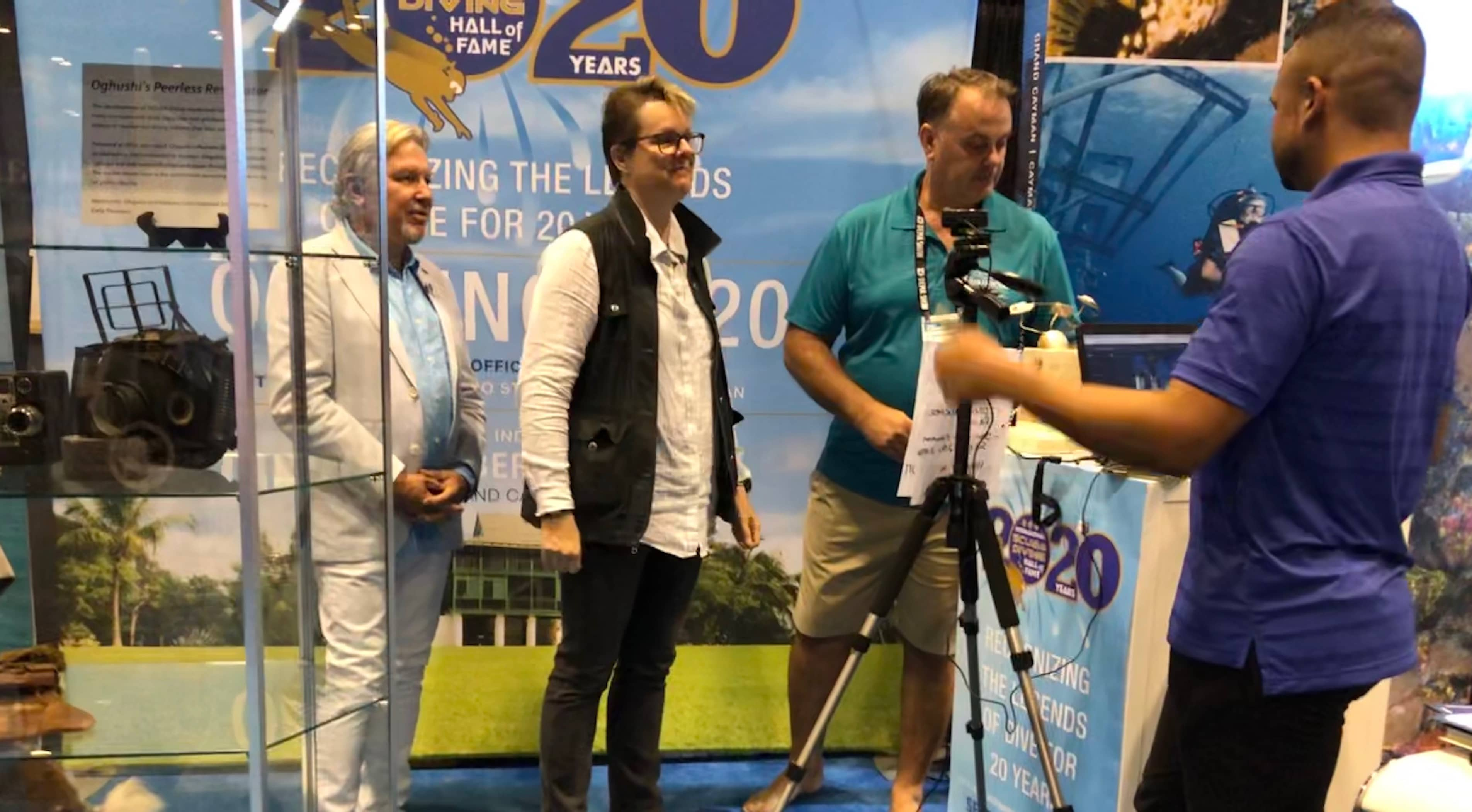 Jill Heitert inducted into the 2020 class of the International Scuba Diving Hall of Fame