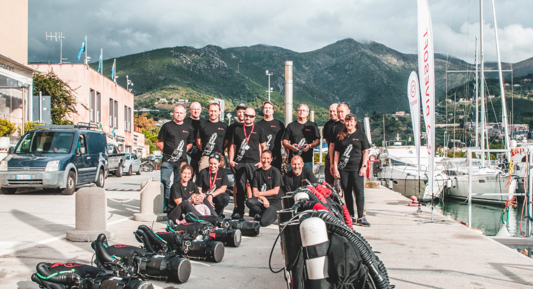 Liberty Rebreather summit in Italy